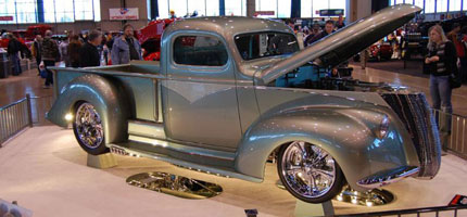 "1946 Chevy Pickup ""Ballistic"" Wins 2009 CleanTools Legend Cup!"