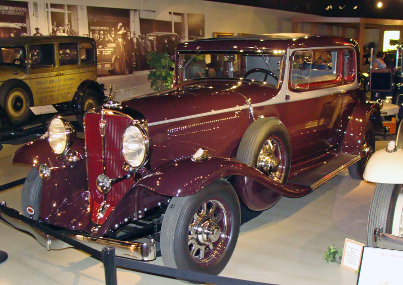 1932 Studebaker President St. Regis Broughham at the Studebaker National Museum