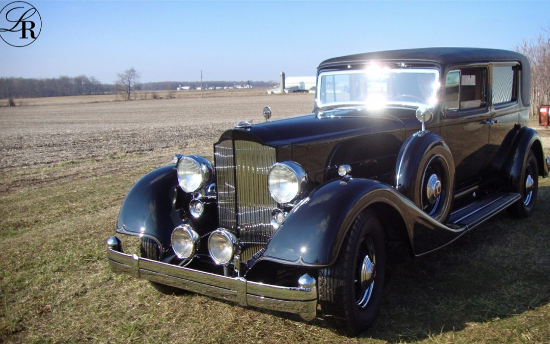 1934 Packard Twelve Formal Sedan