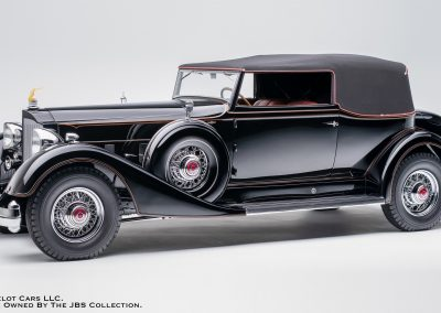1934 Packard Twelve Convertible Victoria