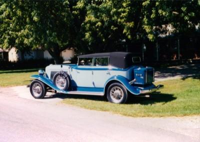 1934 Auburn 12 Cylinder Phaeton