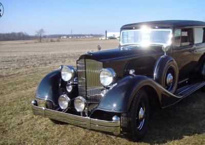 1934 Packard Twelve Formal Sedan