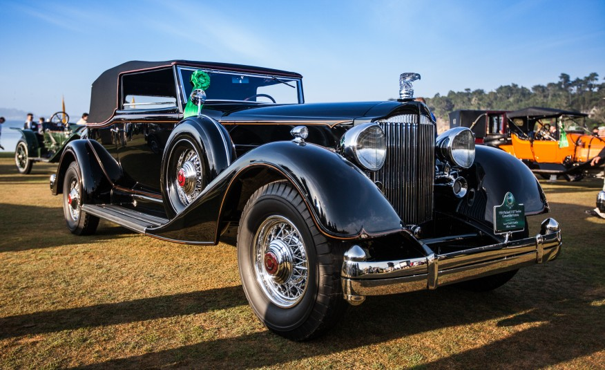 Car and Driver Magazine selected one of our latest projects, this 1934 Packard 1107 Twelve Convertible Victoria, as one of its favorite cars at Pebble Beach 2015!
