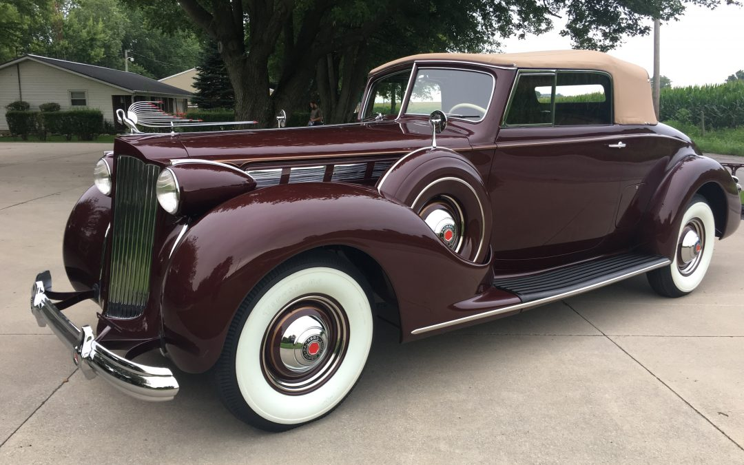 1938 Packard Super Eight Coupe Roadster