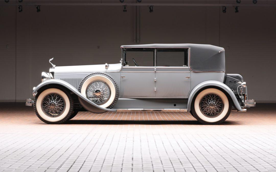 1928 Hudson Model O Convertible Sedan by Murphy